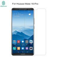 nillkin erstaunlich großhandel-Für Huawei mate 10 pro Glas 9H Nillkin Amazing H + Pro 2.5D runde Kante 0,2 mm gehärtetes Glas Displayschutzfolie für mate 10 Cover