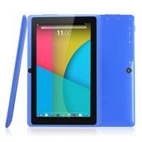 tablet quad core 16gb bluetooth venda por atacado-Tablet PC de 7 polegada Q88H Quan Zhi A33 quad android 4.4 wifi Internet Bluetooth tablet