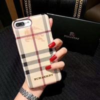 acessórios para celular venda por atacado-2018 nova marca de luxo phone case para iphone x xs max xr 6 6 s 7 8 8 plus acessório do telefone celular case voltar protetor capa moblie telefones shell