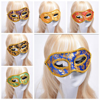 Wholesale venetian costumes for women for sale - Group buy 6styles Lace Carnival Dance Mask Halloween Half Face Mask Venetian Masquerade Masks Sexy Costume Party Christmas Cosplay Masks FFA2655