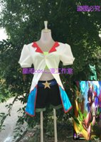 ingrosso pelle cosplay-LOL Arcade Ahri Skin Uniform Outfit Halloween Costume Cosplay