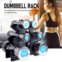 Wholesale weights for dumbbells for sale - Group buy 3 Tier Dumbbell Storage Rack Stand for Home Gym Exercise Multilevel Hand Weight Tower Stand for Gym Organization