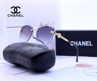 ovaler vintage diamant großhandel-Luxus vintage polarisierte sonnenbrille frauen markendesigner uv400 übergroße brillen Zubehör Gafas Diamond Insert Female