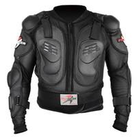 protectores de cuerpo de motocicleta al por mayor-Accesorios de la motocicleta Armadura de la motocicleta Protector del cuerpo Moto Cross Racing Equipo de protección del pecho de la columna vertebral Protección de la motocicleta P13