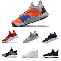 65e58c3e834 2019 Paul George III sneaker pg 3 nasa black white bhm pg3 all star gs basketball  shoes for men