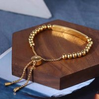 ingrosso fascini in ottone braccialetto-Materiale in ottone di alta qualità design parigi con perline di fascino braccialetto per donne e gioielli regalo madre goccia PS5387A