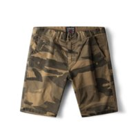 camuflagem roupas shorts venda por atacado-Dropshipping GustOmerD 2019 Trabalho de Verão Para Homens Shorts Camuflagem Slim Fit Casual Shorts Roupas de Alta Qualidade Dos Homens