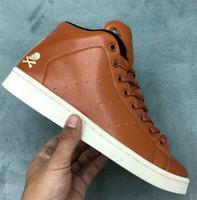 ingrosso mens leather shoes il miglior prezzo-buon prezzo MID 80s-UNDFTD High-rise sneakers allenamento in pelle con snodo cranio leggero, migliori scarpe da ginnastica sportive da uomo