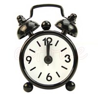 Wholesale number cartoons for kids resale online - Fashion Lovely Cartoon Dial Number Round Desk Alarm Clock For Kid Home Decor