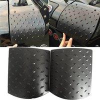 ingrosso jeep nero jk-2 PZ Black Car Sticker Copertura Laterale del Cowl per Jeep Wrangler JK 2007-2015 ABS Body Armor Accessori Auto styling vendita calda