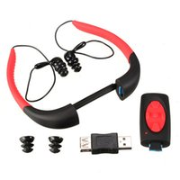 Wholesale waterproof mp3 player 4gb ipx8 for sale - Group buy IPX8 Waterproof GB G Underwater Sports MP3 Music Player Neckband Stereo Audio Headphone with FM for Diving Swimming Pool