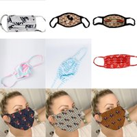 Wholesale charm face mask for sale - Group buy Famous Charm Mickey Face Mask Anti Dust Ultraviolet proof Double Layer Designer Mouth Cover Masks Washable Outdoor Masks Fashion Popular