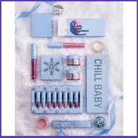 Wholesale makeup collection eyeshadow for sale - Group buy Christmas Holiday Collection Makeup Set CHILL BABY eyeshadow palette BABY IT S COLD OUTSIDE Christmas makeup set lipstick set highlighters
