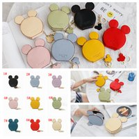 Wholesale coin for sale - 9styles Mouse Ear Wallet Zipper Key Card Holder Coin Purse Child mini Phone Money Pouch Kids Shoulder Bags cartoon storage pouch FFA2018
