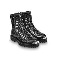 botas de deserto dos homens venda por atacado-Atacado Sapatos de Grife Das Mulheres Botas de Couro Caminhadas Sapatos Bota de deserto Dos Homens de Inverno Bota De Neve plataforma Botas de Trabalho Ao Ar Livre Lazer Ankle Boots