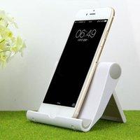 telefon tutacağı üçayak toptan satış-Araba Evrensel Katlanır Tablet Telefon Tutucu Cradle Ayarlanabilir Masaüstü Dağı Tripod iPad Pad için Tutucu Stand Standı