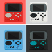 console de jeu de poche achat en gros de-Console de jeu vidéo chaude 8 bits Retro Pocket Handheld Game Player 198 jeux classiques Meilleur cadeau pour enfant