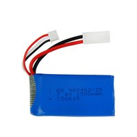 Wholesale helicopter li resale online - 7 V mAh Li po Battery R C RACING BOAT FT009 Remote Control Boat Speedboat FX067C RC Aircraft Battery Accessories