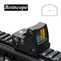 Wholesale airsoft scopes sights resale online - Trijicon Mini RMR Red Dot Sight Collimator Scopes Rifle Reflex Sight Scope fit mm Weaver Rail For Airsoft Hunting Rifle