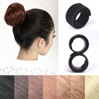 neue haare brötchenhersteller großhandel-Neue Magic Hair Styling-Tool Magic Französisch Twist Haarknoten Baker Mädchen Frauen Zubehör BraidersDoughnuts Bun Maker Tool
