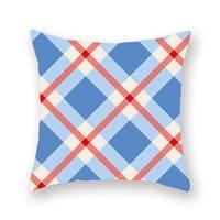 i̇ngiliz tarzı dekorasyon toptan satış-İskandinav İngiliz tarzı geometrik kanepe yastık yastık ev eşyaları araba ofis kanepe minder kapak ev dekorasyon