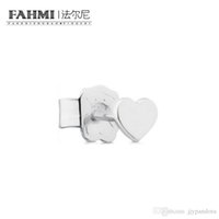 Wholesale jewelry studs spikes for sale - Group buy FAHMI Sterling Silver Retro Charming Love Heart Shape Stud Earrings Charm Women Elegant Jewelry Birthday