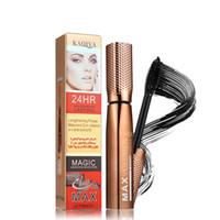 olhos mágicos venda por atacado-Magia incrível 3D Mascara Legal preto À Prova D 'Água duradoura Alongamento Grosso Olho maquiagem rímel Alta qualidade