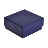 ingrosso orecchini di prua blu-Urijk 10pc nuovo arriva qualità quadrata orecchini gioielli anello regalo scatole di immagazzinaggio blu blu scatola in cartone di zaffiro blu zaffiro