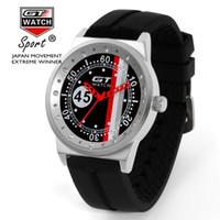 gt f1 uhren großhandel-GT Uhren Top-Marke Luxus Sportuhr Herrenuhr Mode F1 Herrenuhr Silikonband Uhr relogio masculino reloj