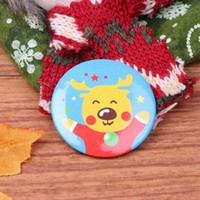 Wholesale blue gold brooch resale online - Cute Pin Cartoon Pattern Costume Brooches Casual Decoration Christmas Tree Decor Jewelry Accessories Kids Boys Girls Gift