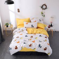 Wholesale bedding sets for for sale - Group buy Cartoon Horse Bedding Set For Kids Cute Fashionable Duvet Cover King Queen Twin Full Single Comfortable Bed Cover with Pillowcase