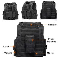 Wholesale assault tactical carrier vest resale online - Motorcycle Army Tactical Vest Outdoor Camouflage Special Forces For USMC Vest Jacket Assault Plate Carrier