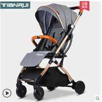 carrinho de passeio inflável venda por atacado-Carrinho de bebê carrinho de mão leve portátil viajar carrinho de bebê crianças carrinho de bebé