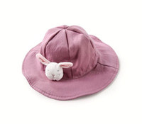 Wholesale baby sun summer hat for sale - Group buy Spring and summer baby hat female baby fisherman hat sun sunscreen super cute hat