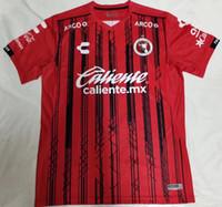 jersey de futbol de calidad tailandia xxl al por mayor-Camisa 18 19 LIGA MX Camisetas de fútbol de Xolos de Club Tijuana 2019 Mejores camisetas de rugby blancas de México Club México de Xolos de Tijuana Rojo