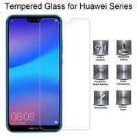 huawei p8 lite 9h toptan satış-Telefon Ekran Koruyucu P20 Pro P10 için Huawei P8 P9 Lite 2017 Kırılmaz Camdan üzerinde Huawei P30 P30Pro P20 Lite P10 Artı 9H HD Film Glass için