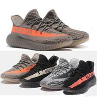 huge discount f9e4e 8bba4 Adidas Yeezy boost supreme off white Vapormax Zapatos Desinger Zapatos  atléticos Pirata negro 350 v2 Beluga 2.0 Recibo 350 Hombres mujeres Moda  Zapatillas ...