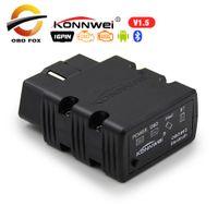 Wholesale obd ii scan tool codes resale online - 2018 Super Mini ELM327 obd ii Bluetooth konnwei KW902 Auto Diagnostic tool ELM wifi code reader scan tools