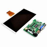 hp hdmi vga al por mayor-NUEVO 7 pulgadas Raspberry Pi 3 TN LCD con módulo de visualización de pantalla AV HDMI VGA para Pcduino Banana Pi 800x480