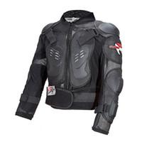 rüstungsgröße großhandel-Pro-Radfahrer-Motorrad-Ganzkörper-Rüstung Jacke Motocross-Schutzausrüstung Capacete De Motocross Turtle Moto Schutzjacken Größe M-4XL