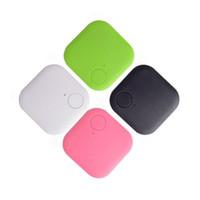telefone für ältere menschen großhandel-Bluetooth 4.0 Low-Power-Zwei-Wege-älteres Kind Haustier Handy Smart Anti-Lost-Quadrat Bluetooth Anti-Lost-Gerät