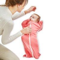 ingrosso bambini di scialle-7 colori Coperta del bambino neonato Sacchi a pelo neonato cotone trapunte da bagno asciugamani da bagno avvolgimento avvoltoio Coperte Nap Scialle Swaddling