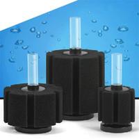 Wholesale sponge filter tank resale online - Aquarium Bio Sponge Filter Aeration Aquatic Organisms Biochemical Cotton Filtration For Fish Tank Solid Color yw E1