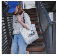 Wholesale ladies big handbags sale resale online - 2019 Hot sale Fashion women capacity tote bag handbags lady canvas bags ladies purse Self wind shoulder bag big size