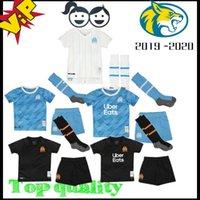 fútbol 22 al por mayor-2019 Olympique de Marsella 2020 niños BALOTELLI maillots de foot 19 20 OM local visitante tercera camiseta de fútbol PAYET THAUVIN camiseta de fútbol para bebés