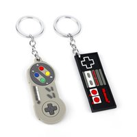 Wholesale gaming controller accessories for sale - Group buy Keychain Creative Jewelry Video Game Controller Keyring Key Chains Gamepad Keychain Gaming jewelry Accessories Two Colors