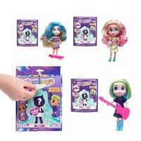 pvc blinds großhandel-2020 Lange Haare Puppe Schönheit Mädchen Ladenkasten Puppe Action-Figuren Skateboard Spielzeug Weihnachtsgeschenk zx00212