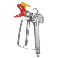 давление пистолета оптовых-3600PSI High Pressure Airless Paint Spray Gun airbrush +517 Spray Tip +Nozzle Guard for Wagner Titan Pump Spraying Machine
