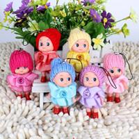 juguetes de muñecas payaso al por mayor-de los niños creativos de la felpa Evade pegamento Juguetes 8 CM cuadrícula payaso confundido regalo de la muñeca La muñeca de la boda lindo y hermoso Calor En Juguetes para niños