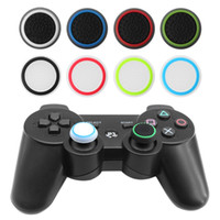 Wholesale grip cap button for sale - Group buy Silicone Anti Skid Joystick Thumb Stick Grips Button Caps Cover for PS4 PS3 XBOX Gamepads Handle Dust proof Rocker Hats Protect Controllers